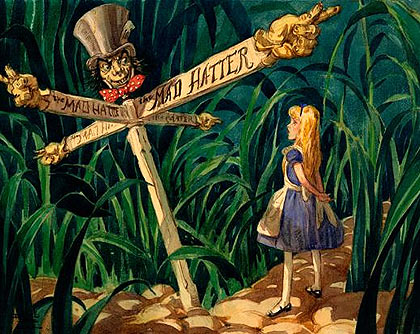 ALICE IN WONDERLAND development