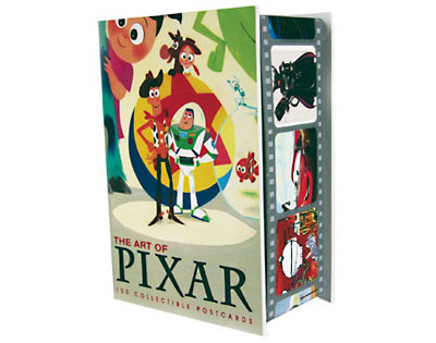 Pixar postcards