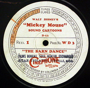 CARTOON RECORD RARETIES