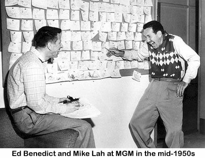 Ed Benedict and Michael Lah