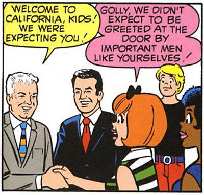 Josie Visits Bill and Joe