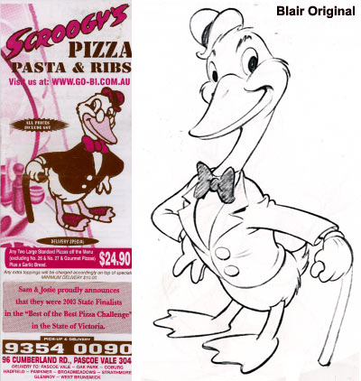 Preston Blair's Pasta Ad