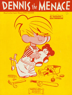 Dennis the Menace sheet music