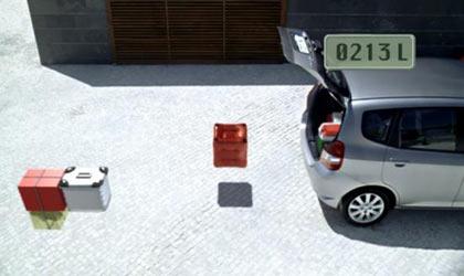 Honda Tetris spot