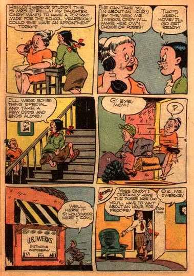 ANIMATOR REFERENCE FOUND IN OLD COMIC BOOK
