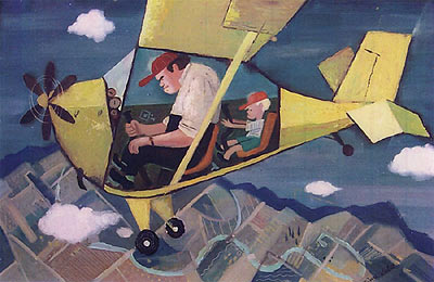 Ward Kimball Painting