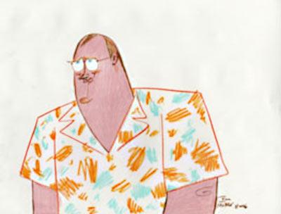 John Lasseter by John Musker
