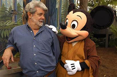 Loonatics has nothing on Jedi Mickey