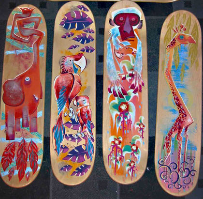 Skatedecks by Scott Morse