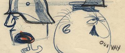 Oreb drawing