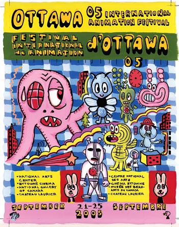 Gary Panter Ottawa Poster