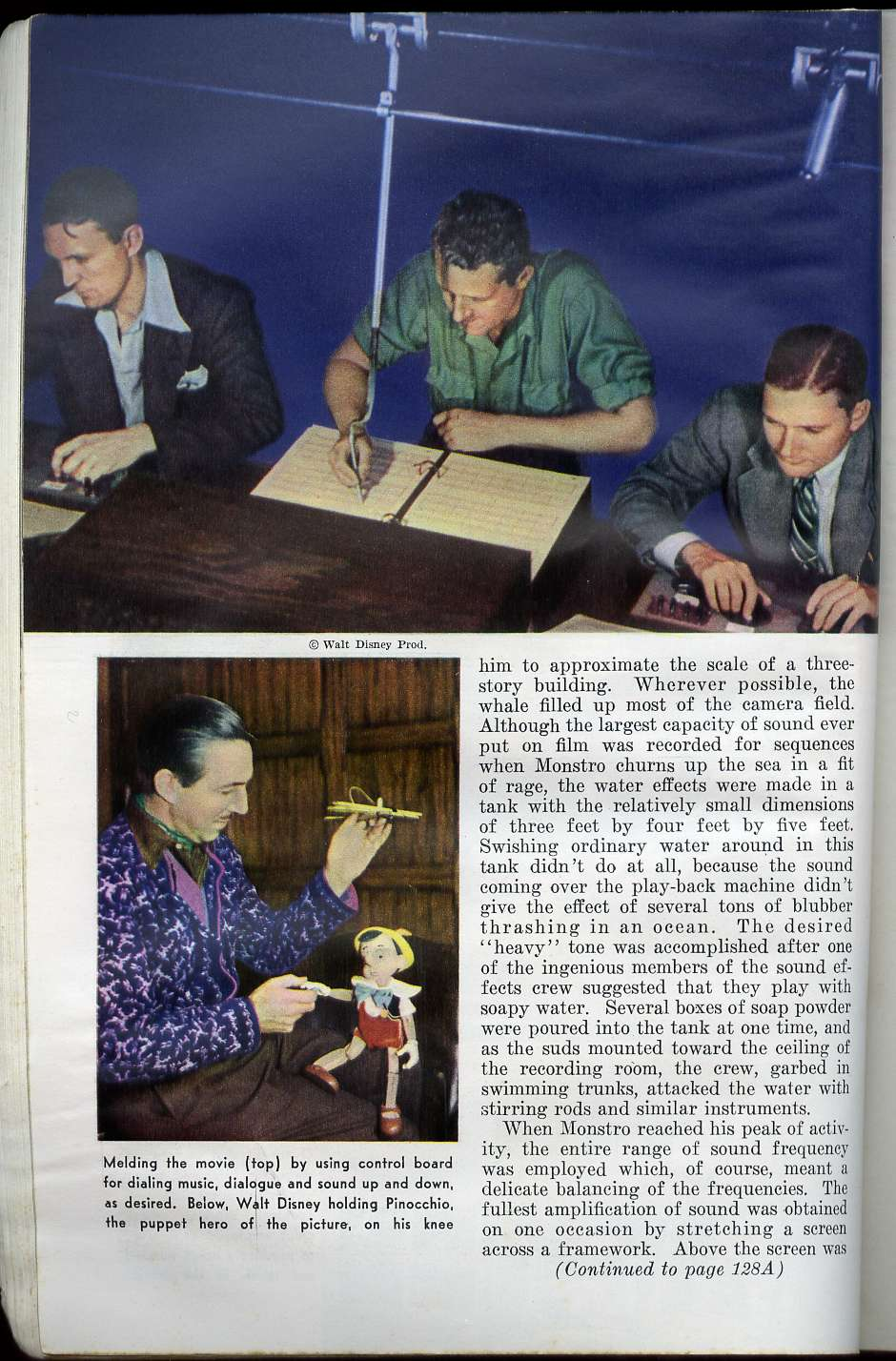 The Making Of Where Do Little Spiders: The Making Of Pinocchio