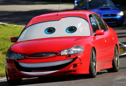 Make Your Own Pixar Cars