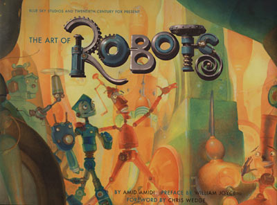 Art Of Robots Now Available