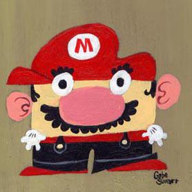 Mario by Gabe Swarr