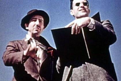 Frank Thomas and Walt Disney