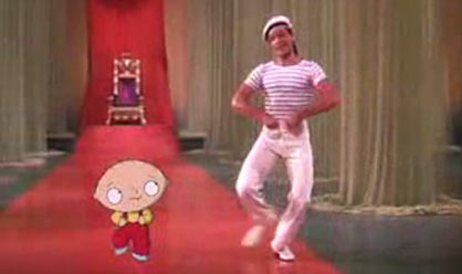Stewie and Gene Kelly