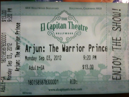 arjun_ticket