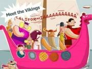 Vikings in boat