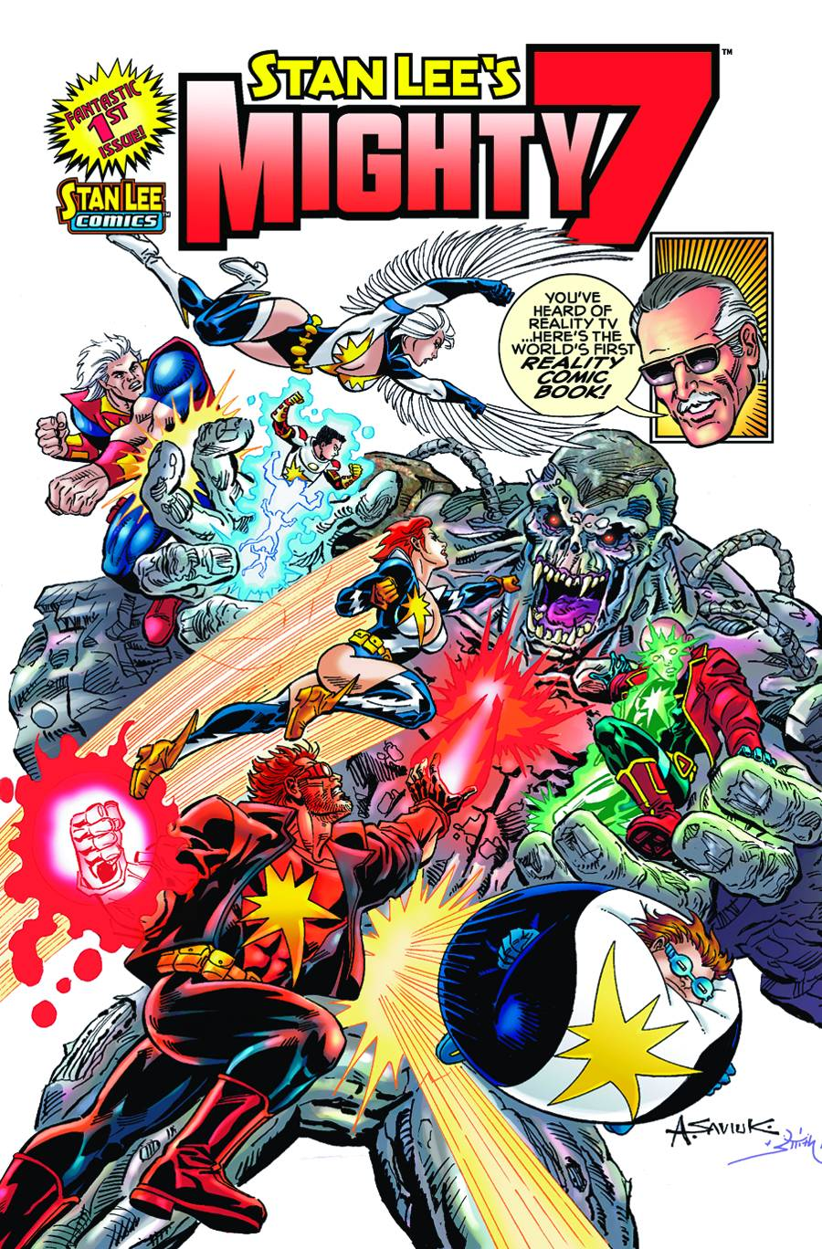 Stan Lee S New Original Comic Book Series To Be Developed