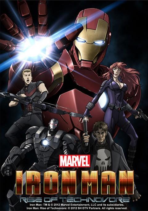 Marvel Anime: Iron Man 480p,720p (English-Dub) 2010 (Toonanime)