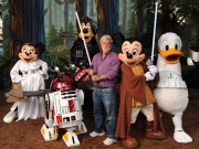 George Lucas and Mickey