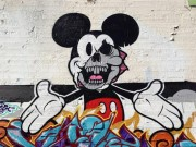 Mickey Mouse Graffiti