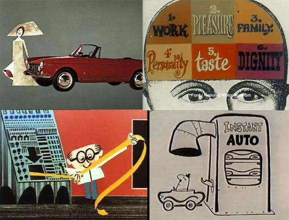 Modern Car Toons A Look At Autos In Mid Century Animation
