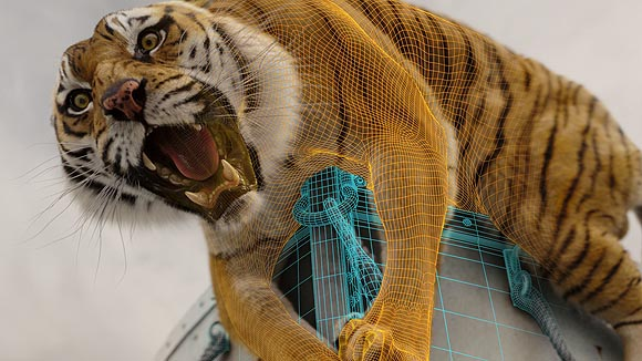 An appreciation of the tiger in life of pi for Life of pi characters animals