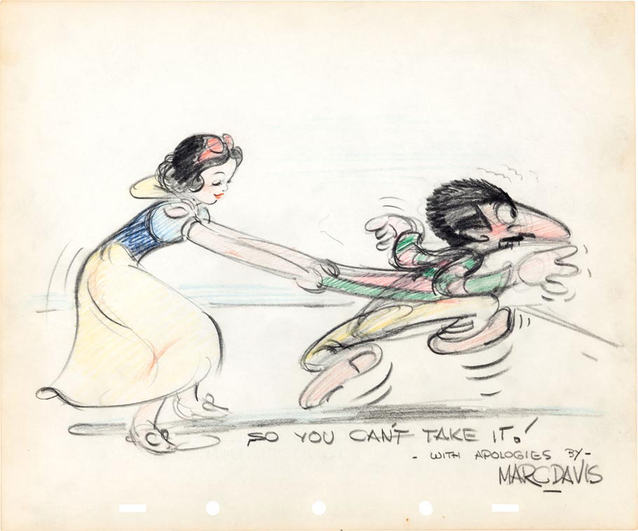 Drawing by Marc Davis