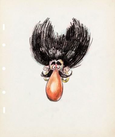 Ward Kimball drawing