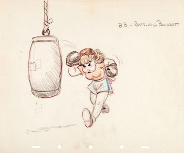 B. B. — Battling Barrett