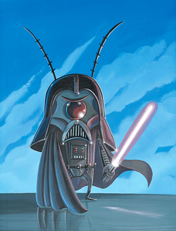 """Darth Plankton"" by Joe Vaux"