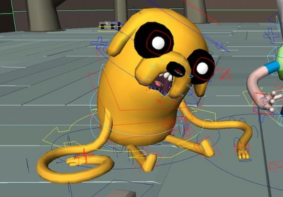 David Oreilly Talks About His Glitchy Quot Adventure Time Quot Episode