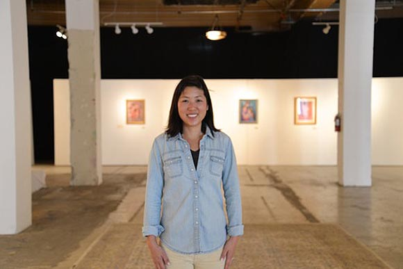 Gennie Rim, who worked for the past decade at Pixar and Disney as a  production coordinator and artist manager, opened the GR Works gallery  space in downtown ...