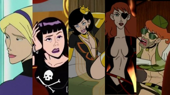 the five most mentally unstable ladies of venture bros