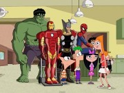 phineasandferb-marvel