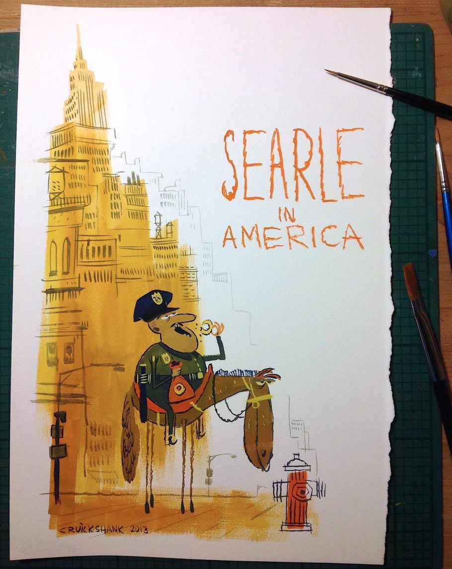 """Searle In America"" by Matt Cruickshank"