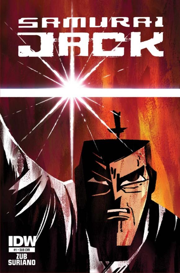 Book Cover Art Generator ~ Idw publishing announces quot samurai jack comic book