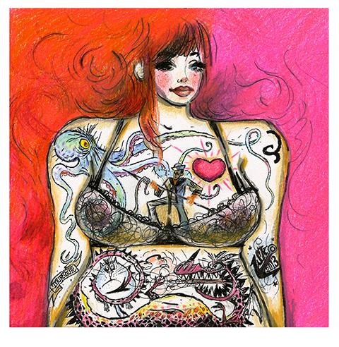 """""""Sailor's Chick"""" by Stephane Kardos"""