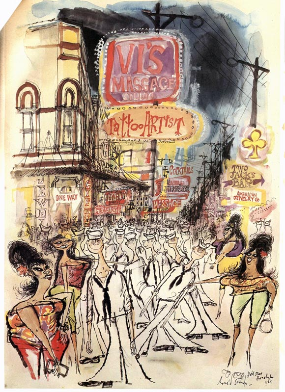 Participate in This Auction to Bring Ronald Searle's Art to America