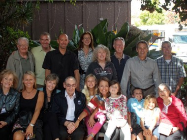 Don with his extended family in 2012.