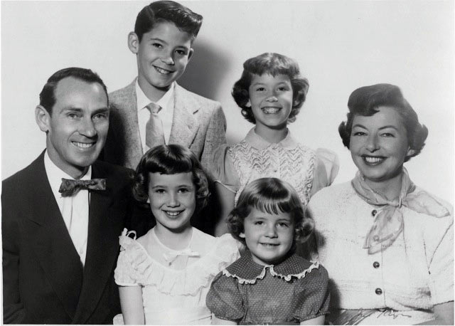 Don and family, ca. mid-1950s.