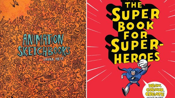 sketchbooks-superheroes