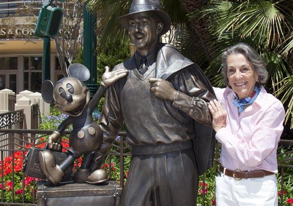 Walt Disney S Daughter Diane Disney Miller Has Died At 79
