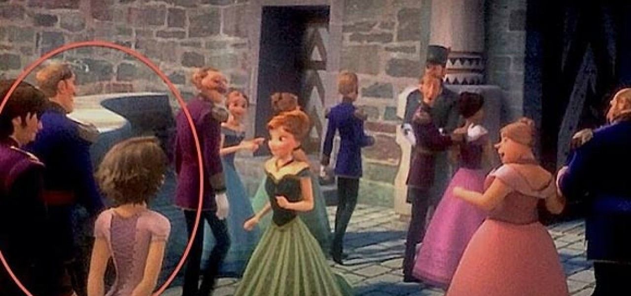 rapunzel cameo in quotfrozenquot surprises the director of quottangledquot