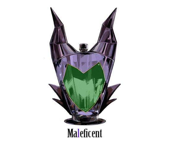 Disney Villains Perfume Bottles