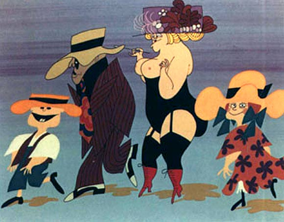 10 Animated Sexploitation Features From The Sixties And Seventies Nsfw