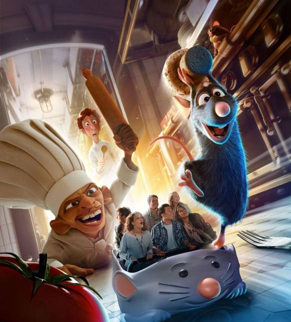 ratatouille ride to open at disneyland paris this summer. Black Bedroom Furniture Sets. Home Design Ideas