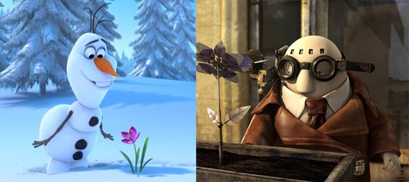 Frozen,' 'Mr  Hublot' and 'Gravity' Win Animation Oscars